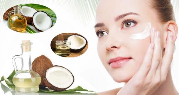 Top 6 công dụng của dầu dừa đối với da mặt