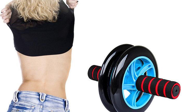 Những bài luyện tập với con lăn tập bụng gym roller